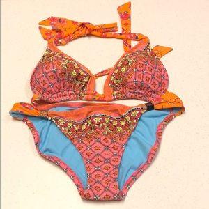 Tropical Orange Swim suit 🍊